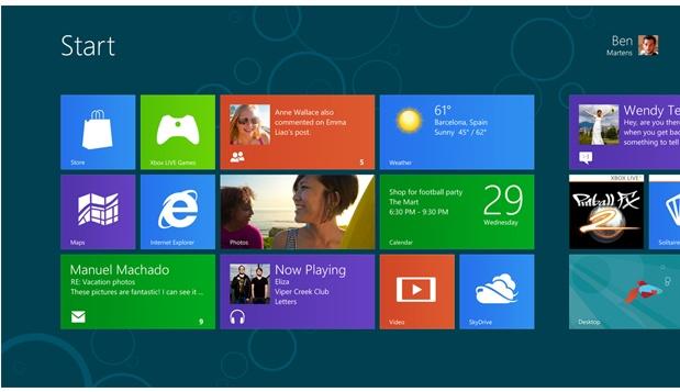 Windows 8 – całkowita wymiana okienek