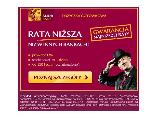 Zestawienie reklam email oraz ich landing page – cz.1 banki