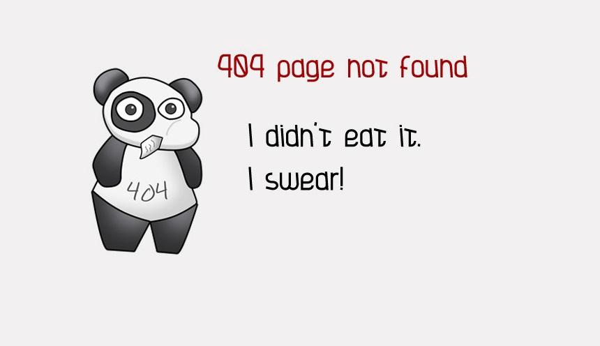Najlepsze strony błędów 404